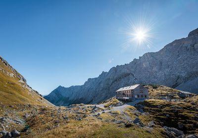 Lamsenjochhütte from Stans 4