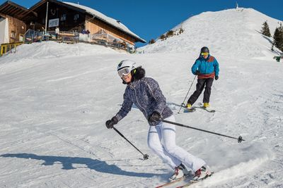 Ski fun at the Kellerjoch