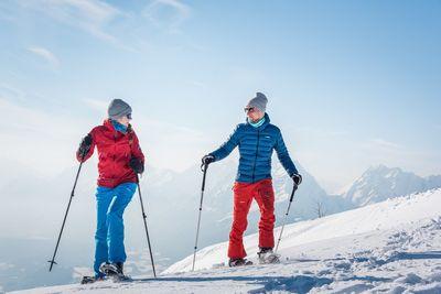 Schneeschuhwanderung Weerberg – Höhenweg zur Nonsalm 2
