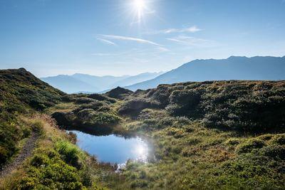 Via the Lafasteralm to Gilfert Peak 1