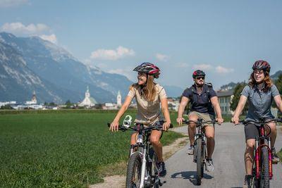 Innradweg Bicycle Track Stage 4: Innsbruck - Strass im Zillertal 2