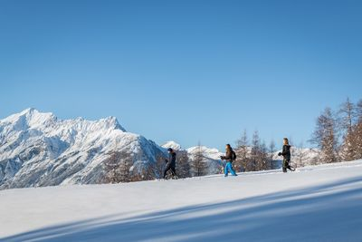 Schneeschuhwanderung Schneeschuhparadies Hochpillberg 2