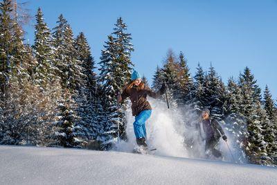 Schneeschuhwanderung Schneeschuhparadies Hochpillberg 1