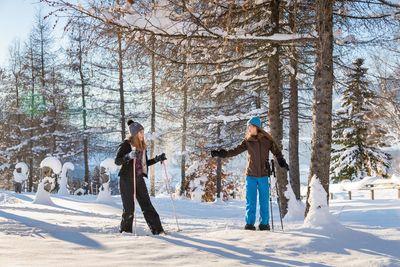 Schneeschuhwanderung Kleine Familienstrecke Hochpillberg 1