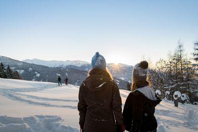 Schneeschuhwanderung Schneeschuhparadies Hochpillberg 3
