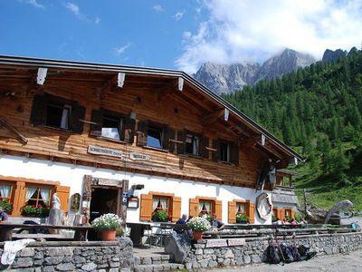 Auf die Binsalm im Karwendel 2