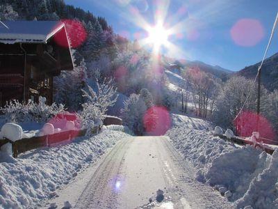 Winter am Floachhof