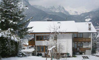 Haus Paregger in winter