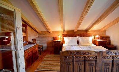 Wohnung Lavendel Schlafzimmer